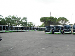 Kent LF Buses Serve To Public Transport In Malta